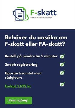 f-skatt banner