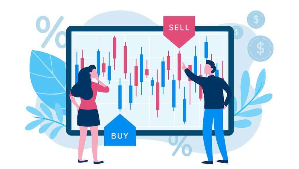 köpa och sälja - daytrading