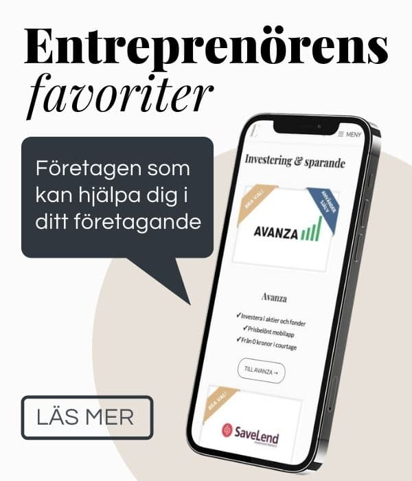 entreprenörens favoriter - add